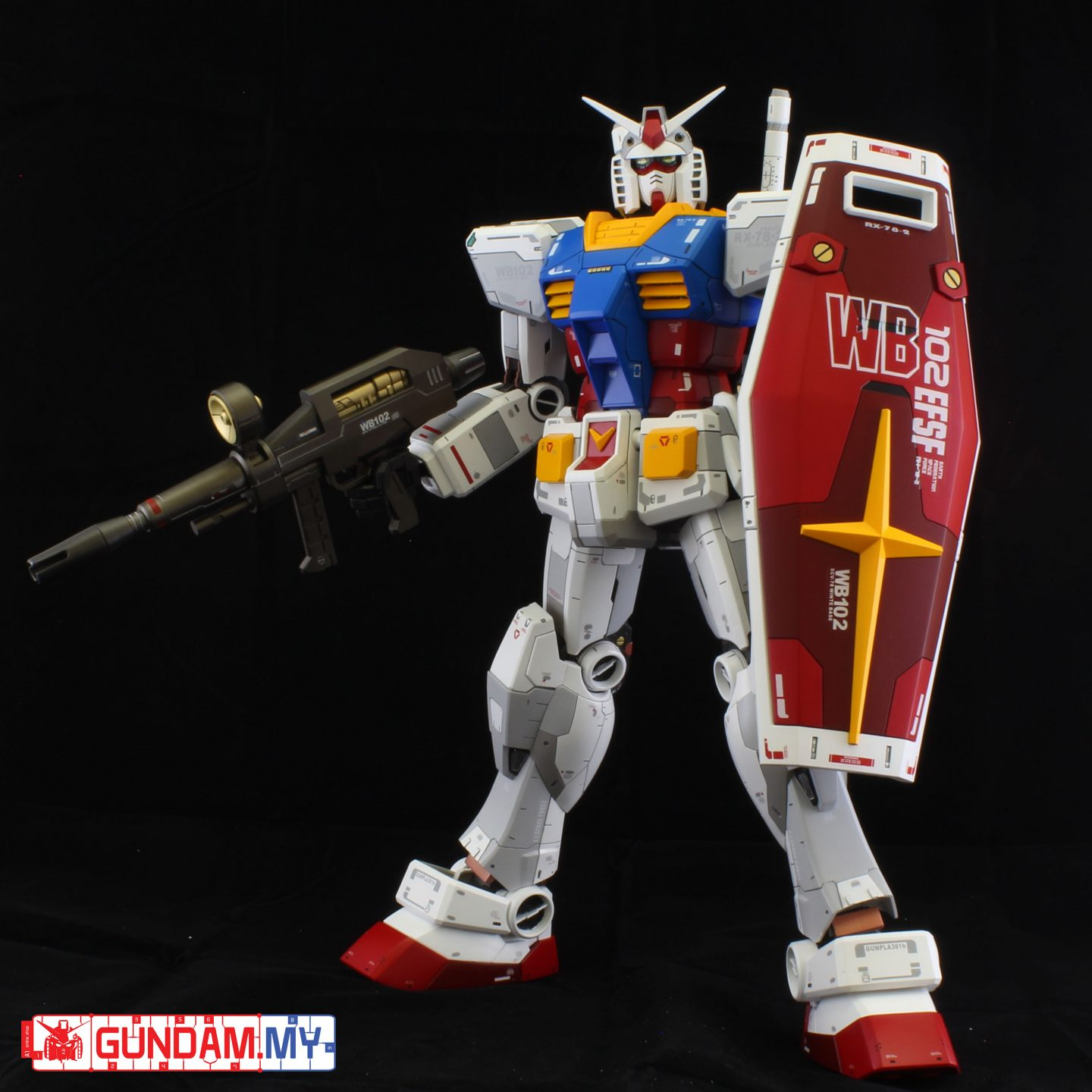 MEGA SIZE RX-78-2 – Ver 3.0 Build By H.Foo