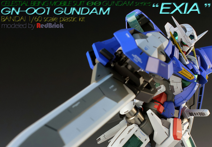 ae7a713ff0a Custom Build  1 60 Gundam Exia  Detailed  – Gundam.my Blog