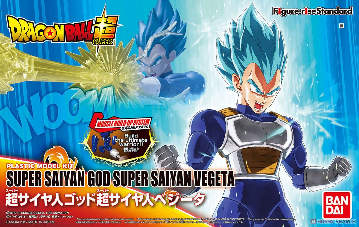 Dragon ball Figure-rise Standard Super Saiyan God Super Saiyan Vegeta landed