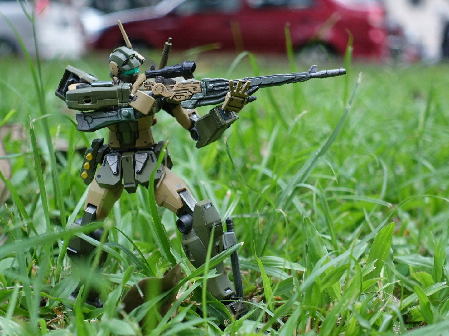 HGBF GM/GM outdoor shooting by HizrianHaron