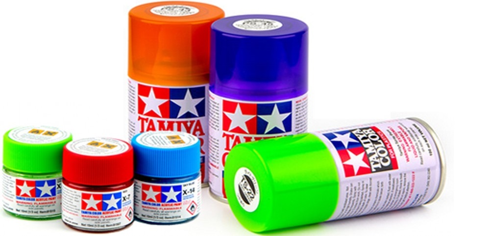 Differences between Acrylic, Enamel and Lacquer paint.