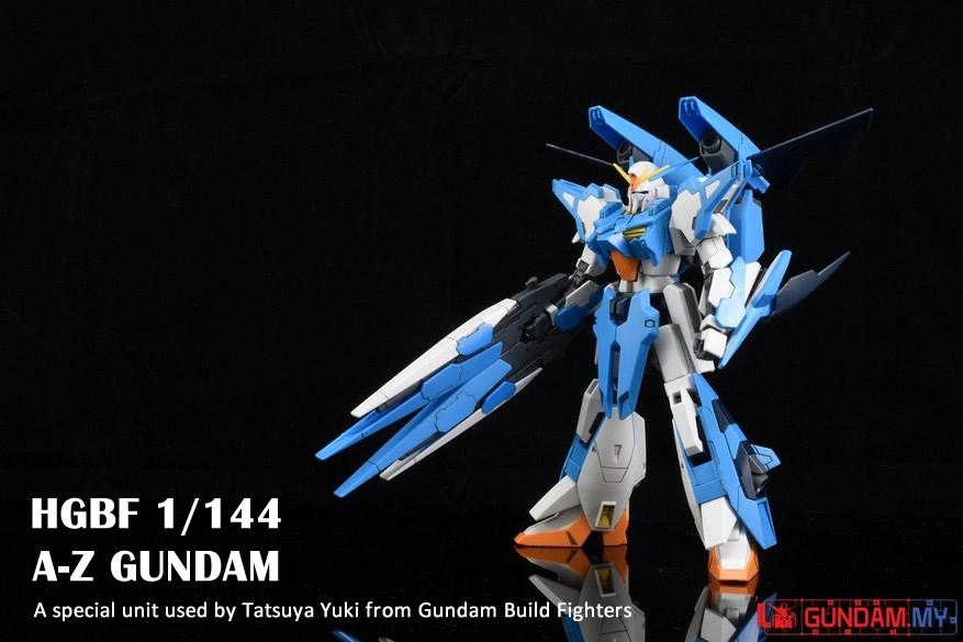 Photo Gallery : HGBF A-Z Gundam