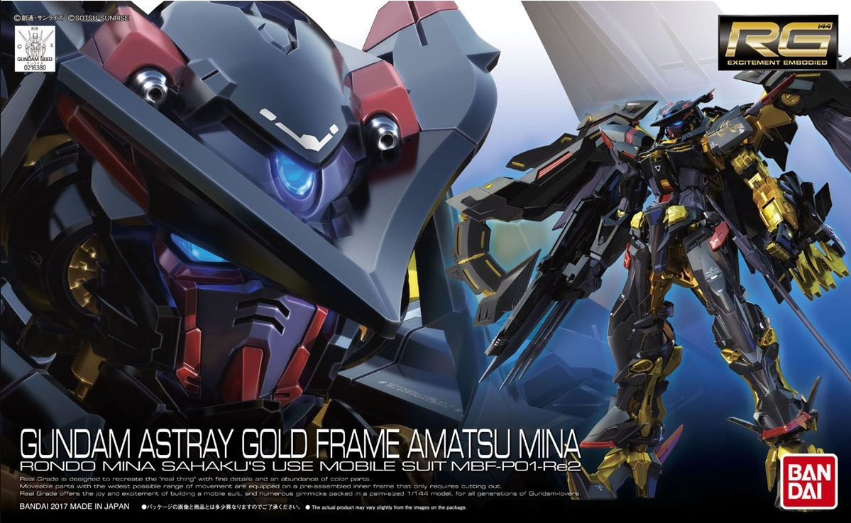 Photo Gallery: RG 1/144 Gundam Gold Frame Amatsu Mina