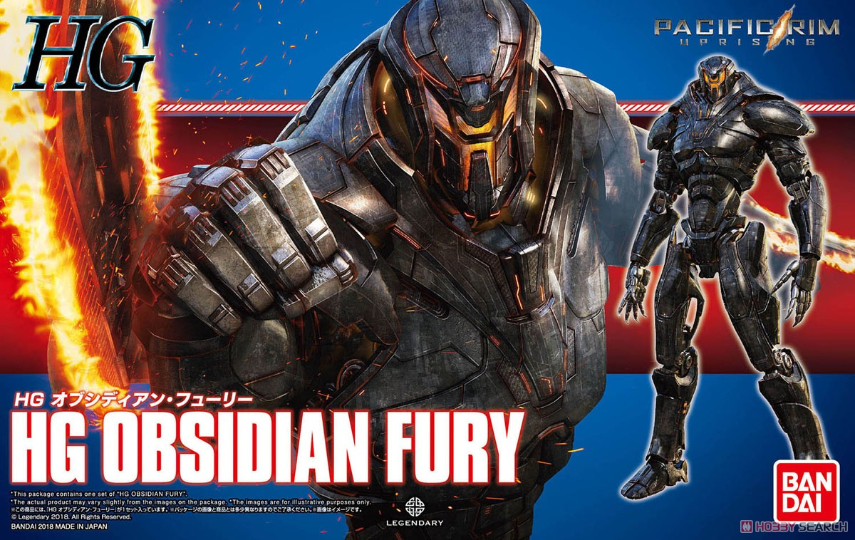 Photo Gallery: HG [PACIFIC RIM] Obsidian Fury