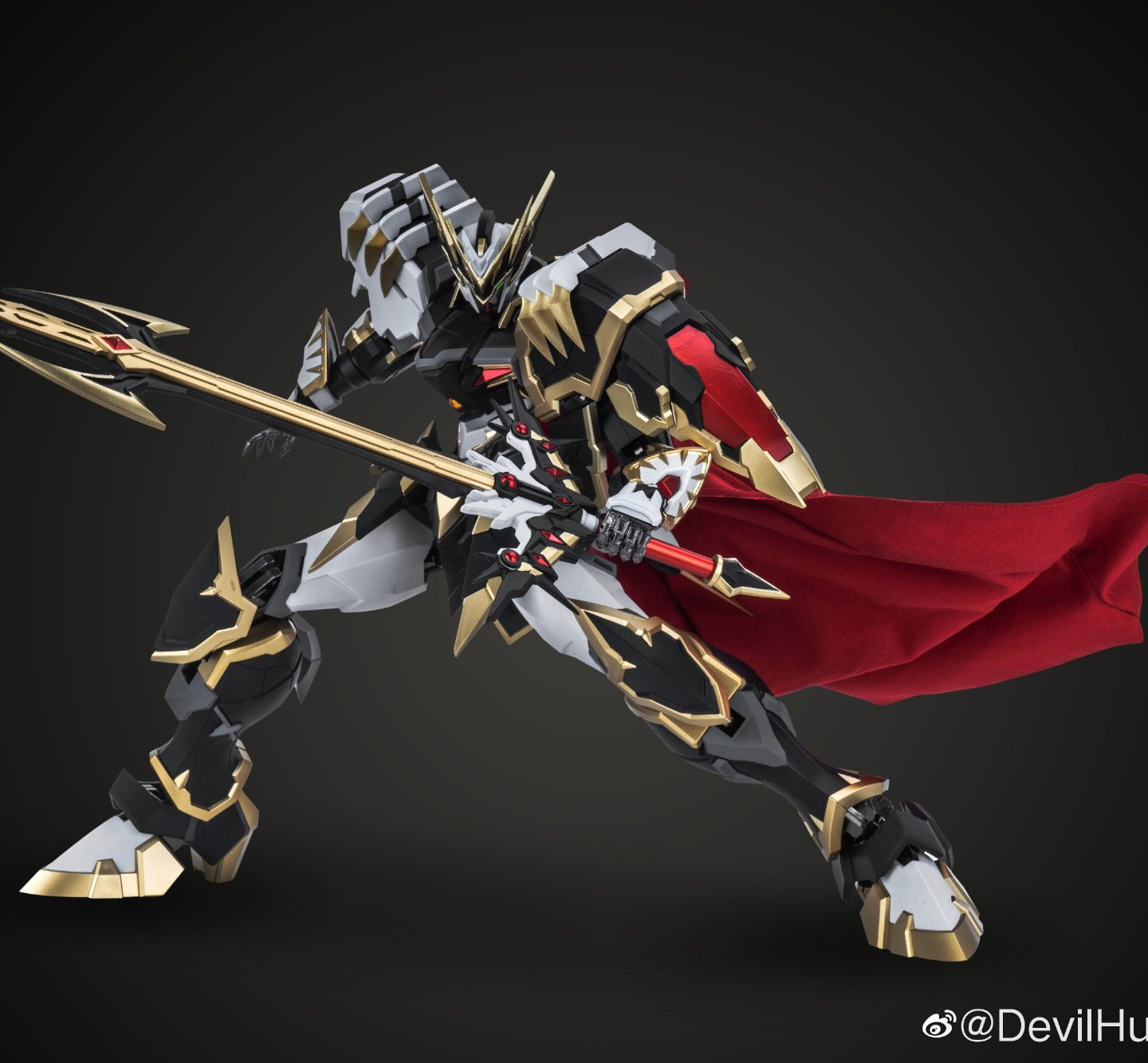 [Devil Hunter] DH-04 Blade Dragon Emperor (Diecast Action Figure) opens for PO