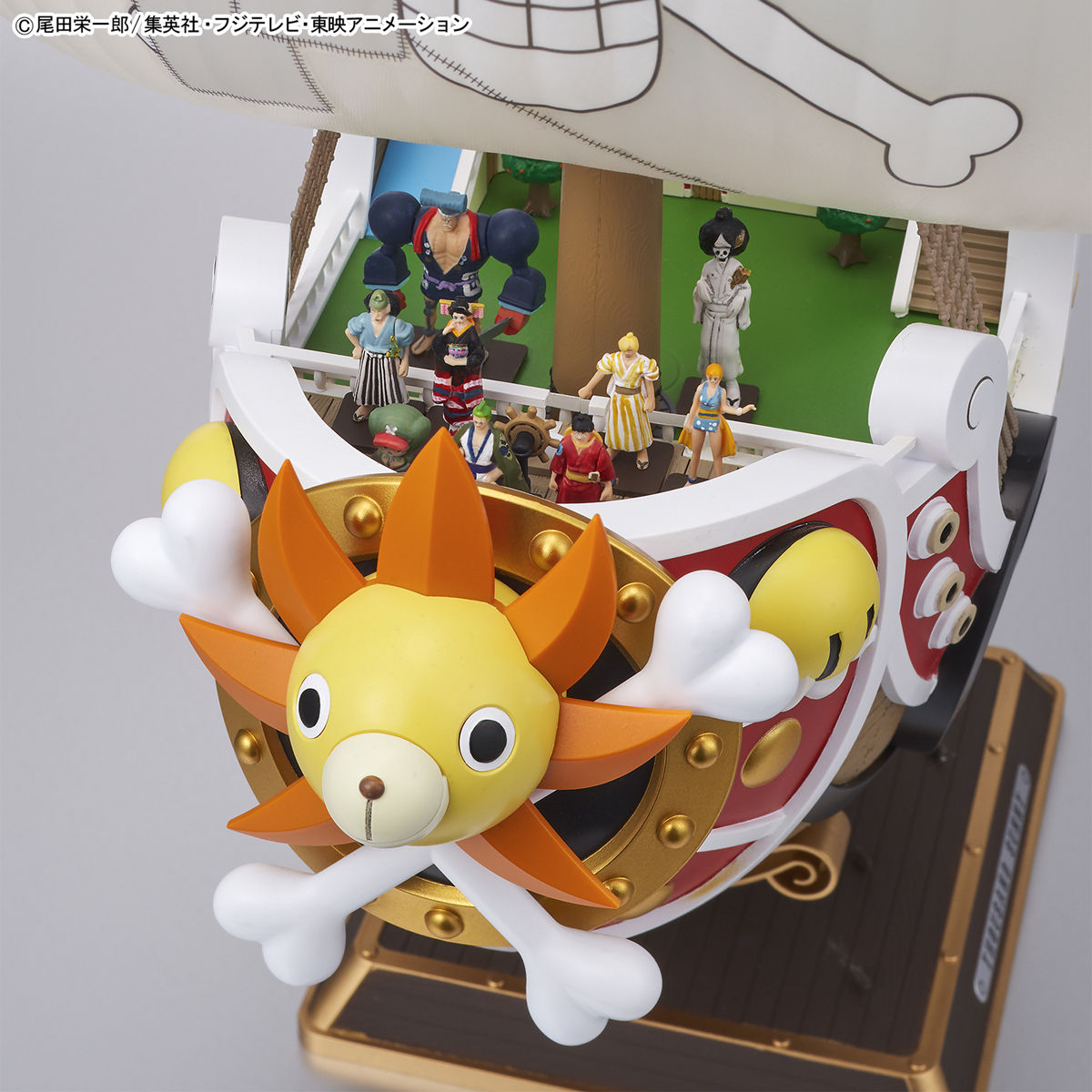 GUNDAM.MY: Thousand Sunny Land of Wano Ver. (image uploaded)