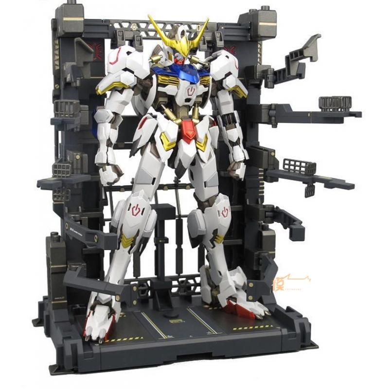 Energy and Repair Garage for MG / HG / RG Gundam (Gun Metal Color)