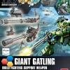 [023] HGBC 1/144 Giant Gatling Support Weapon