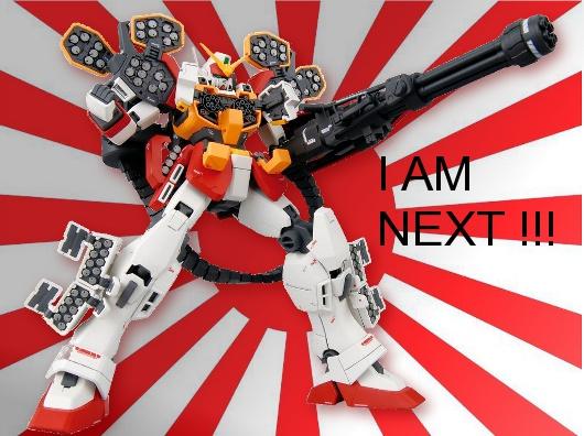 MG 1/100 Heavyarm EW , I am NEXT!!!