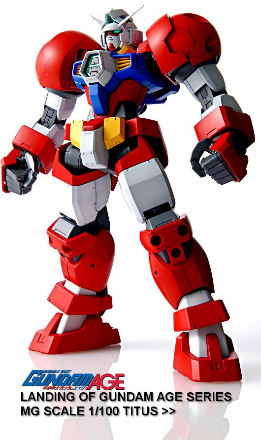 MG 1/100 Gundam Age Series - Titus