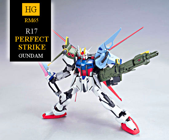 Bandai R17 Perfect Strike Gundam
