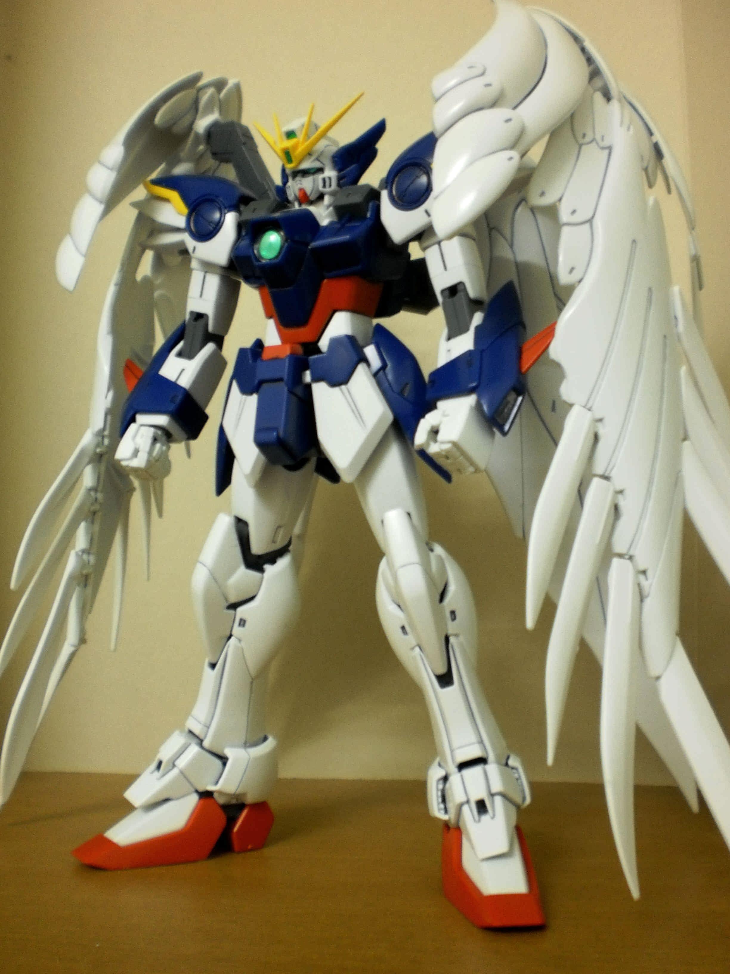 HG 1//144 Gundam Wing Endless Waltz XXXG-00W0 Wing Gundam Zero Cu... FROM JAPAN