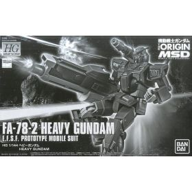 P-Bandai: HG 1/144 Heavy Gundam [Gundam The ORIGIN MSD]