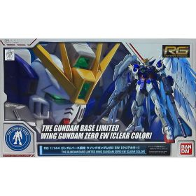 The Gundam Base Limited Wing Gundam Zero EW [Clear Color]