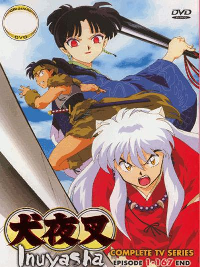 Inuyasha 犬夜叉 TV Series (12 DVDs)