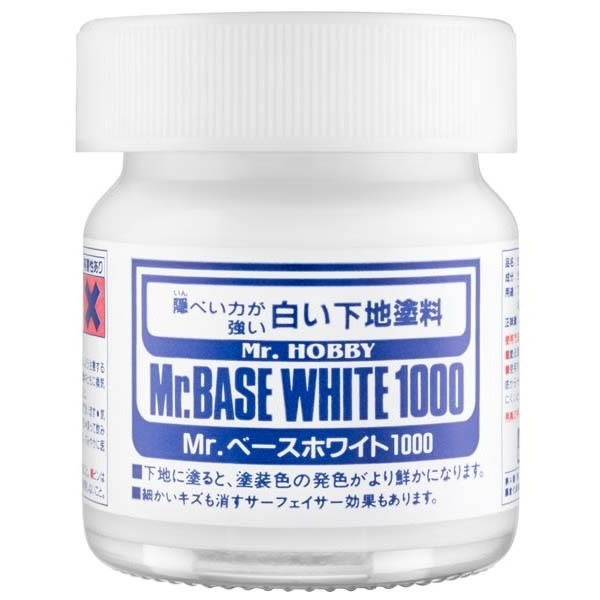Mr Hobby Mr Base White 1000