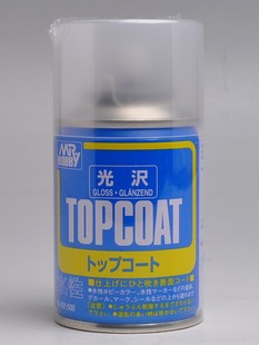 [B501] Mr Hobby Top Coat Gloss 86ml Spray