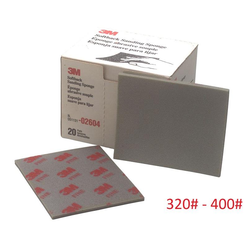 3M Sanding Paper Coarse FINE (RED) 320 - 400
