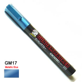 Gundam Marker Pen - Oil Based GM17 (Metallic Blue)