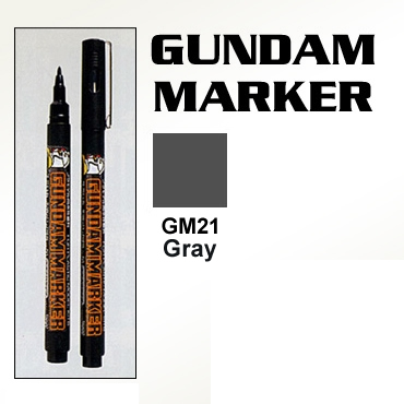 Gundam Marker Pen - Water Based GM21 (Gray)