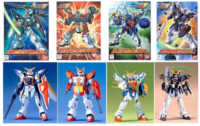 [4 in 1] FG 1/144 Gundam-W Series