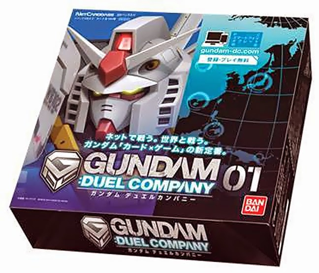 Gundam Duel Company Version 1 - 1 Box, 20 Pack  60 cards
