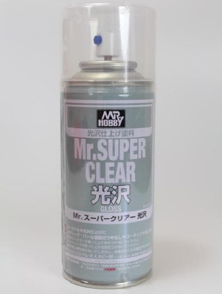 [B513] (MR HOBBY) Mr. Super Clear Gloss (170ml)