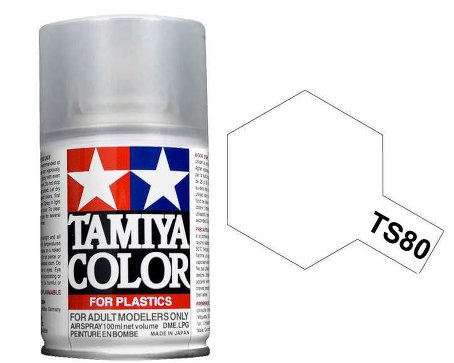 Tamiya Flat Clear Top Coat Spray TS-80