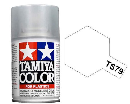 Tamiya Semi Gloss Clear Top Coat Spray TS-79