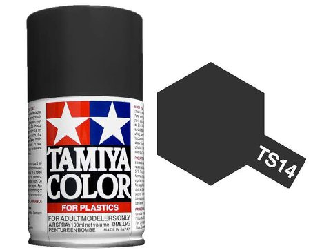 Tamiya Black Paint Spray TS-14