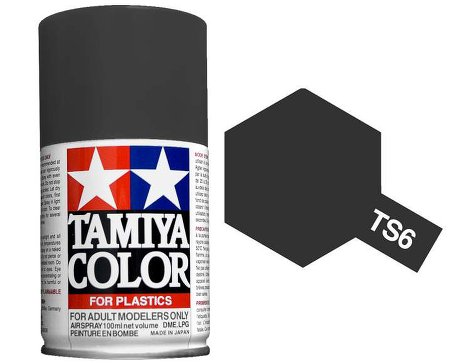 Tamiya Matt Black Paint Spray TS-06