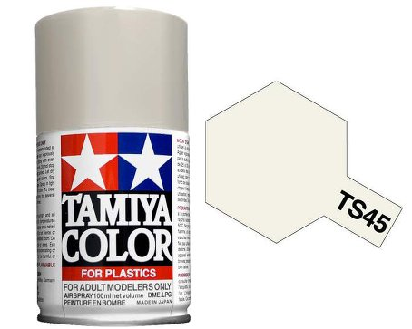 Tamiya Pearl White Paint Spray TS-45