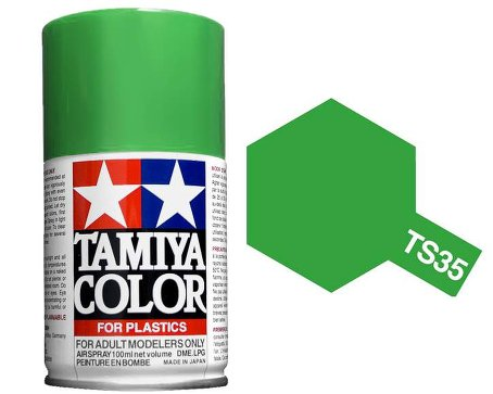 Tamiya Park Green Paint Spray TS-35