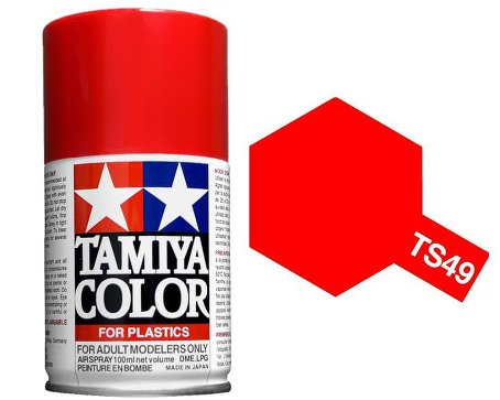 Tamiya Bright Red Paint Spray TS-49