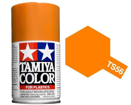 Tamiya Brilliant Orange Paint Spray TS-56
