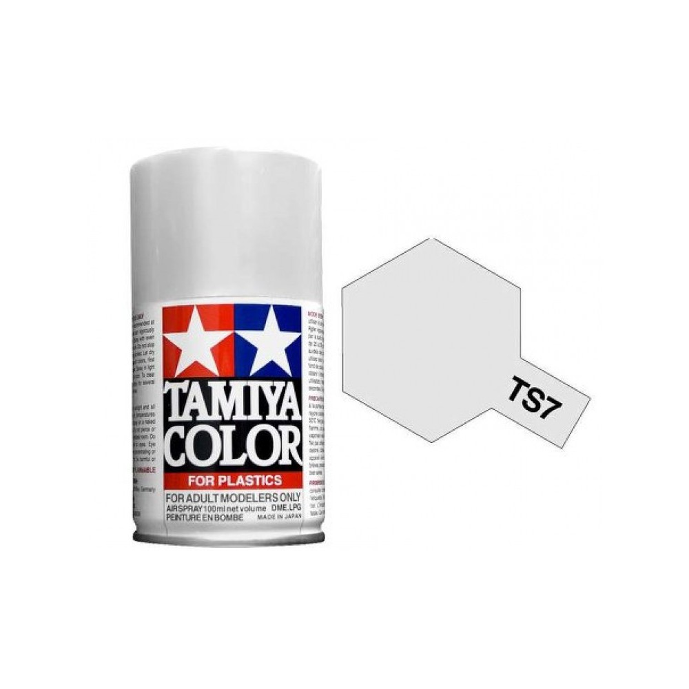Tamiya Semi Racing White Paint Spray TS-07