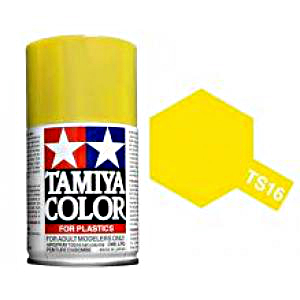 Tamiya Yellow Spray TS-16