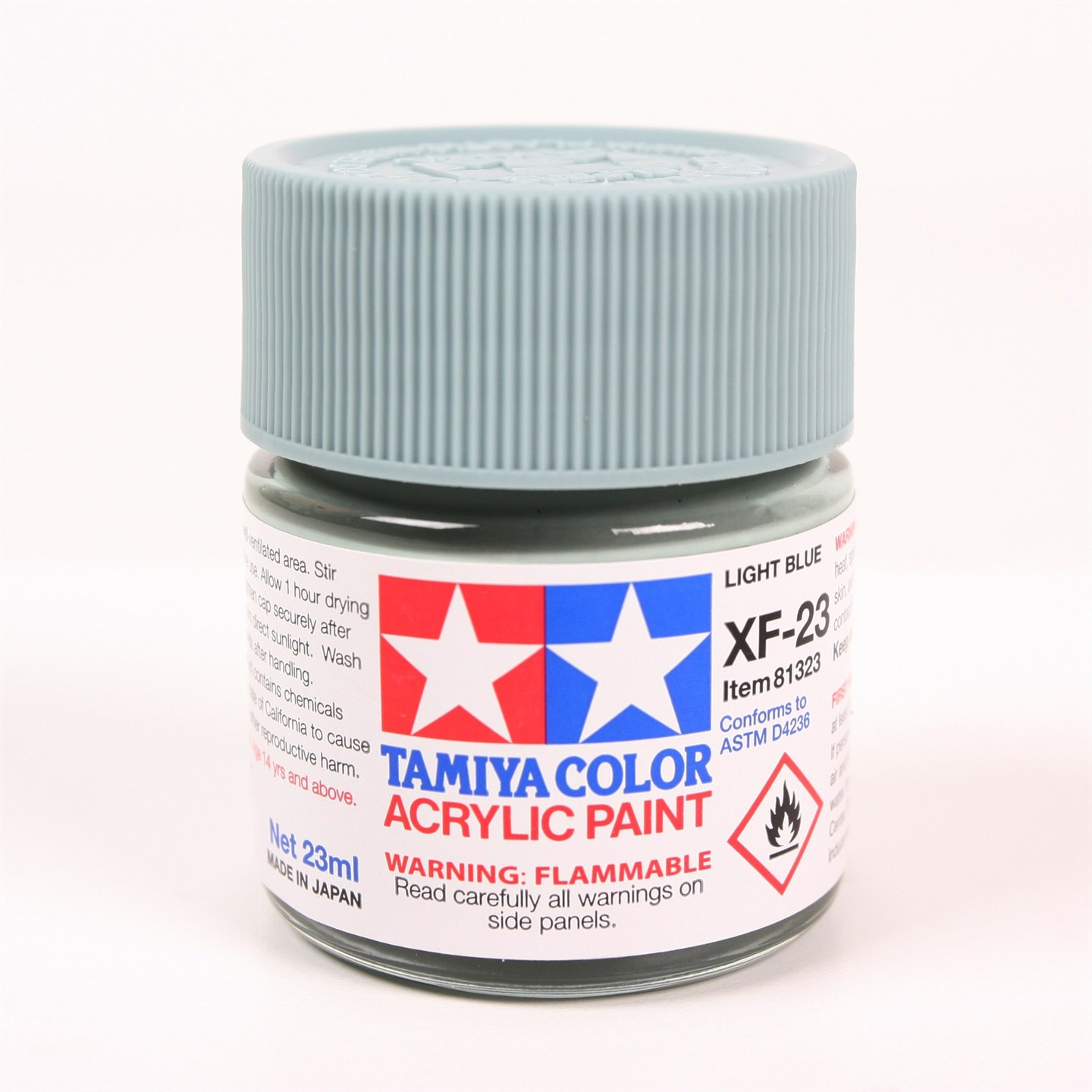 Tamiya Color Acrylic Paint XF-23 (Light Blue) (23ml)