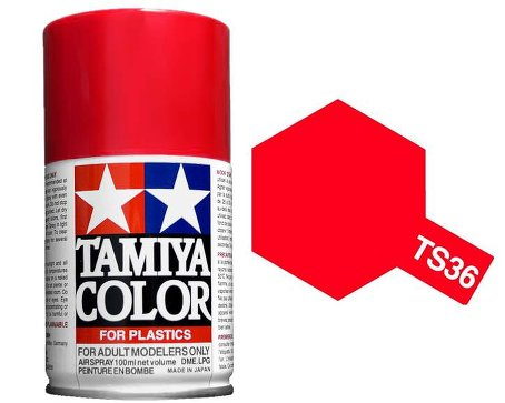 Tamiya Flourescent red Spray TS-36