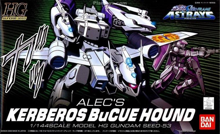 [53] HG 1/144 Kerberos Bucue Hound (Aleck Ladd Use)