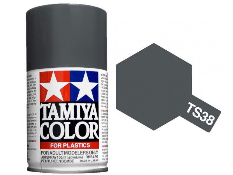 Tamiya Gun Metal Paint Spray TS-38