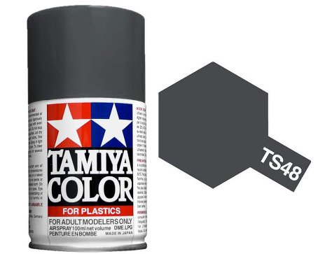 Tamiya Gunship Gray Paint Spray TS-48