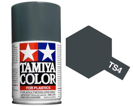 Tamiya German Gray Paint Spray TS-04