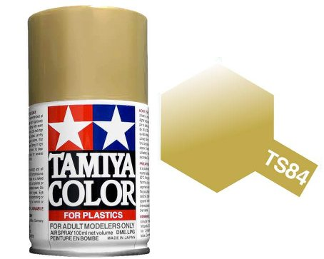 Tamiya Metallic Gold Spray TS-84