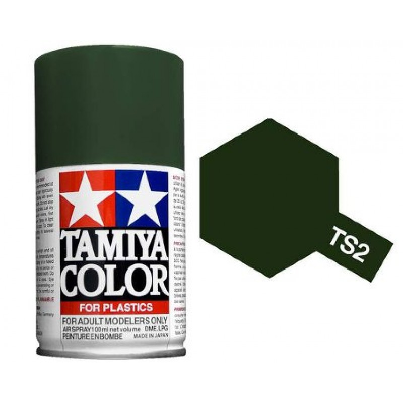 Tamiya Dark Green Spray TS-02