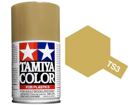 Tamiya Dark Yellow Spray TS-03