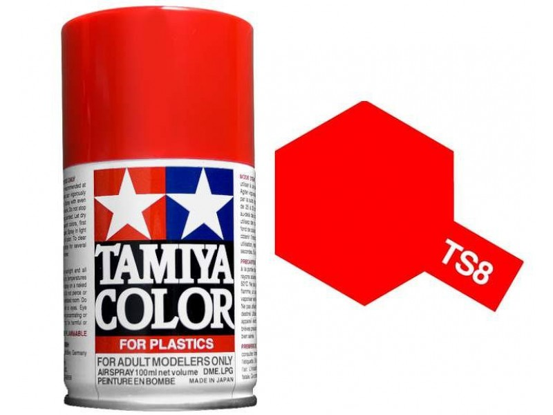 Tamiya Italian Red Spray TS-08