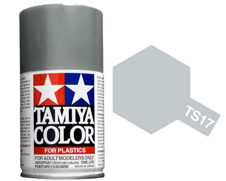 Tamiya Aluminum Silver Paint Spray TS-17