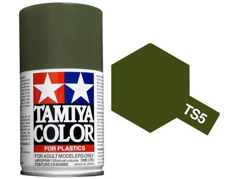 Tamiya Olive Drab Paint Spray TS-05