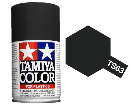Tamiya Nato Black Paint Spray TS-63